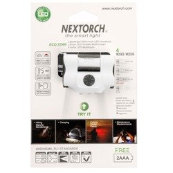 Latarka Czołowa NEXTORCH ECO STAR White