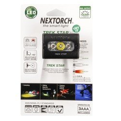 Latarka Czołowa NEXTORCH TREK STAR Black